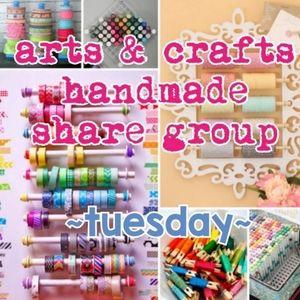 10/20 ARTS, CRAFTS & HANDMADE SHARE GROUP